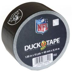 Duck Brand Duct Tape, NFL Duck Tape, inch x 10 yard, New Orleans Saints, Multicolor Indianapolis Colts, Pittsburgh Steelers, Dallas Cowboys, Denver Broncos, Cowboys Football, Seattle Seahawks, Duct Tape, Washi Tape, Tapas