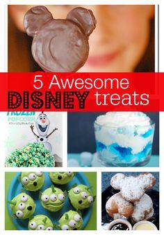 5 Awesome Disney Treat Ideas