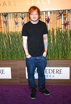 When he just stood on a red carpet with his hands in his pockets. | 21 Times Ed Sheeran Was So Unbelievably Cute We Almost Couldn't Take It