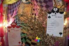 Mad Hatter's Party Birthday Party Ideas | Photo 6 of 25 | Catch My Party