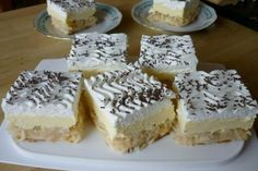 Czech Recipes, Ethnic Recipes, Cook N, Pavlova, Sweet Tooth, Bakery, Cheesecake, Deserts, Food And Drink