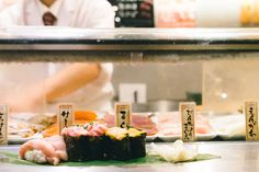 Standing Sushi Bar Shibuya in Tokyo, Japan Review: Best Standing Sushi Restaurant | That Food Cray !!!