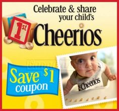 Hidden Save.ca Canadian Coupon: $1 Off Cheerios! - Canadian Savers Extreme Couponing, Coupons, Children, Style, Young Children, Swag, Boys, Kids, Coupon