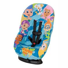bubble guppies car seat cover