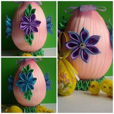 Jajko fioletowo-niebieskie