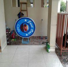 Neon Box Bulat di Tarakan Kalimantan Utara Neon Box, Interior, Indoor, Interiors