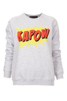Topshop-Petite Kapow! Sweat £28