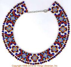 AllThingsUkrainian.com gherdany Bead Jewelry  # GIN15140
