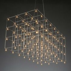 Universe LED Square Suspension