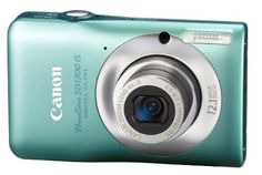 Canon PowerShot SD1300IS 12.1 MP Digital Camera with 4x Wide Angle Optical Image Stabilized Zoom and 2.7-Inch LCD (Green) by Canon. $219.99. From the Manufacturer                 It's all about the power of contrast. Color that defies convention. Sleek, gentle curves that merge art and technology into a camera designed to inspire. The PowerShot SD1300 IS Digital ELPH camera captures your world as much as it expresses your originality, with bold innovations that include re...