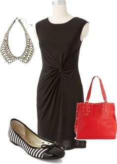 """""""Little Black dress + Accessories Under $180.00"""" by agelessstylist on Polyvore"""