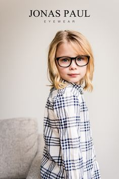 3884bcb75e4a Cute glasses for girls! Black eyeglasses frames that are perfect for every face  shape. Jonas Paul Eyewear