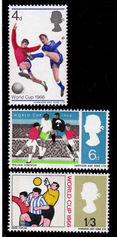 GB World Cop Stamps