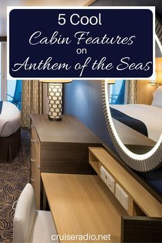 Anthem of the Seas has 20 types of staterooms and is the first cruise ship to roll out studio balcony rooms. Cruise Travel, Cruise Vacation, Vacation Trips, Vacation Travel, Vacations, Travel Goals, Vacation Ideas, Cruise Tips Royal Caribbean, Royal Caribbean Ships