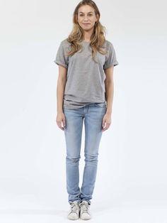 Straight fit jeans for women #mudjeans #dutch #fairtrade #organic #zuiverewol