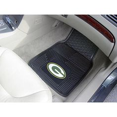 $35 Green Bay Packers Vinyl Car Mats