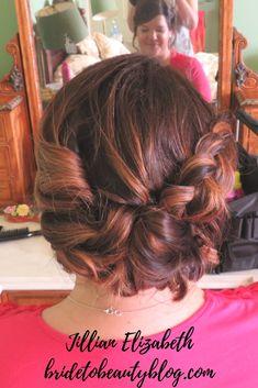 Hair up, bridesmaids hair, wedding hair, curls, updo Bridesmaid Hair, Bridesmaids, Up Hairstyles, Wedding Hairstyles, Hair Wedding, Updos, Your Hair, Curls, Bridal
