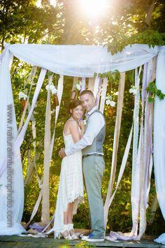 Backyard Wedding // Natural Intuition Photo www.naturalintuitionphoto.com