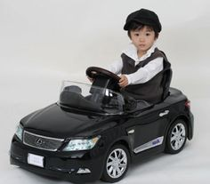 The sleek one-seater toy LEXUS LS600hL — which, like the Model-T Ford of old, comes only in black — is perfect for tots too posh for tricycles and is made by A-kids (www.a-kids.com). It has really great details in the dashboard, body and rims and even has working headlights and a sound system built into the headrest. It retails for ¥44,100. Japan Times news  photo
