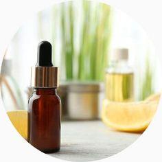 essential oils with lemon