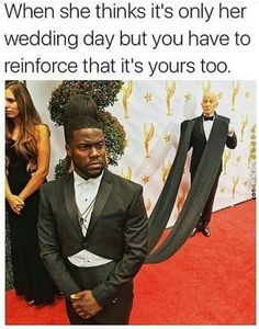 When she thinks it's only her wedding day
