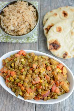 Lentil Vegetable Curry | The Lean Green Bean | Bloglovin'