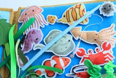 Like the fishing pole too Dolls House Figures, Book Activities, Dinosaur Stuffed Animal, Quilts, Toys, Blog, Cute, Projects, Crafts