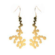Dendrite earrings from Fab