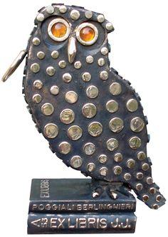 2004- Ex libris -bronzo-, cm 35x29x18.