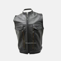 Mens Motorcycle Vest