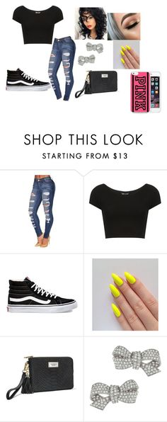 """My little nephew is a workout to play with"" by chanel-xoxo123 on Polyvore featuring Topshop, Vans, Victoria's Secret and Ciner"