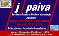 SERRALHERIA J. PAIVA Estruturas Metálicas - Manutenção e Reforma em Geral