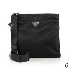 bc25ac98ce54e1 Prada Small Nylon Crossbody Bag Authentic Adjustable strap. Used quite a  bit. Zip pocket