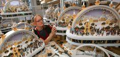 Advent im Erzgebirge SchwippBogen Manufaktur in Seiffen