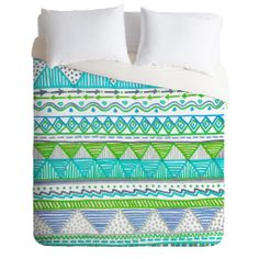 Lisa Argyropoulos Ocean T 1 Duvet Cover   DENY Designs Home Accessories