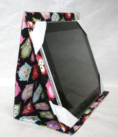 Ipad Case Ipad Sleeve Stand up iPad mini Owl Design
