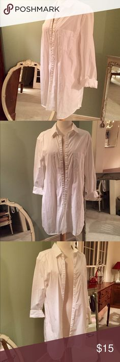 Long Button Down Great open with jeans or as a coverup. BP from Nordstrom Rack BP Tops Button Down Shirts