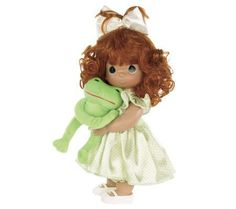 "Precious Moments 12"" I Toadally Love You - GirlDoll — QVC.com"