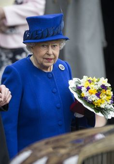 Queen Elizabeth II Photo - Maundy Service Conducted in Oxford 2