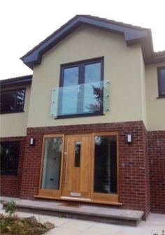 Glass juliette balcony.  Supplied by Morris Fabrications Ltd.