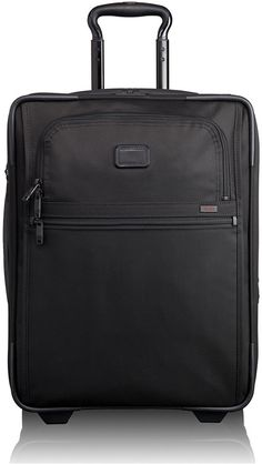 Tumi - Alpha Travel Continental Expandable 2 Wheel Carry-On - Black