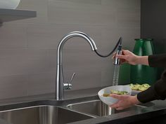 Delta Faucet Single Handle Pull-Down Kitchen Faucet