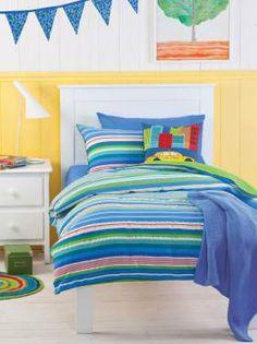 Hello Hello Quilt Cover Set- Noah's room