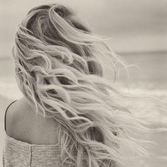 Beach hair love <3