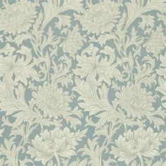 The wallpaper Chrysanthemum Toile - from William Morris is wallpaper with the dimensions m x m. The wallpaper Chrysanthemum Toile - William Morris, Toile Wallpaper, Wallpaper Roll, Hall Wallpaper, Cream Wallpaper, Orange Wallpaper, Pattern Wallpaper, Chrysanthemum, Morris Wallpapers