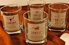 rodeo cocktail glasses