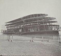 SS Admiral under construction St. Louis Riverfront ca 1938 Photo Missouri History Museum