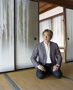Japanese painter Hiroshi Senju
