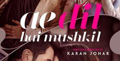 Ae Dil Hai Mushkil First Look Out, Teaser Will Out At 10 AM Tomorrow