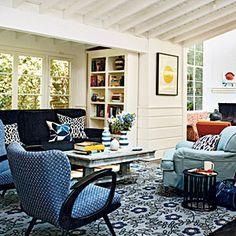 50 Colorful, Cozy Spaces | Motif Matrimony | CoastalLiving.com